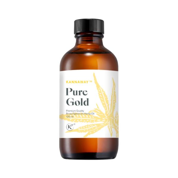 CBD-Öl Pure Gold 120ml